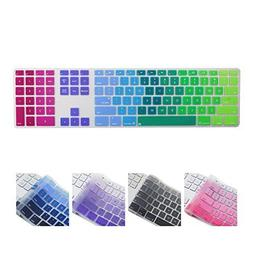 All-inside Rainbow Keyboard Cover for iMac Wired USB Keyboar