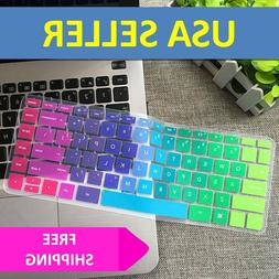 rainbow keyboard cover skin case silicone