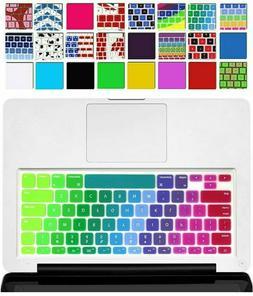 rainbow macbook keyboard cover soft silicone skin