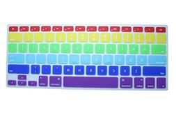 CaseBuy Rainbow Pride Color Silicone Rubber Keyboard Protect