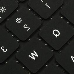 REDUCE OVERHEAT ! BLACK Silicone Keyboard Cover for Macbook