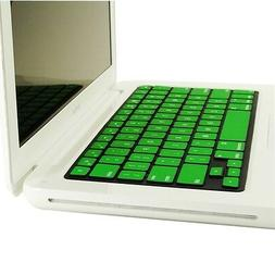 REDUCE OVERHEAT ! GREEN Silicone Keyboard Cover for Macbook