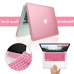 ROSE GOLD Metallic Hard Case Keyboard Cover Macbook Air Pro