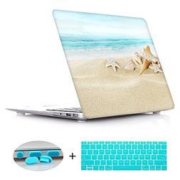 New Fashion Rubberized Clear Laptop case + Keyboard skin + D