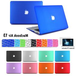 "Rubberized Hard Case Cover For Macbook Air 13"" Keyboard Skin"