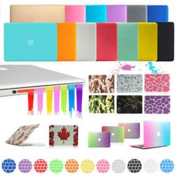 Rubberized Hard Case Shell +Keyboard Cover for Macbook Pro 1
