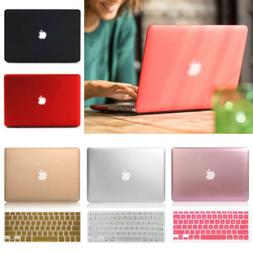 Rubberized Metallic Painting Hard Case+KB For Macbook Pro Ai