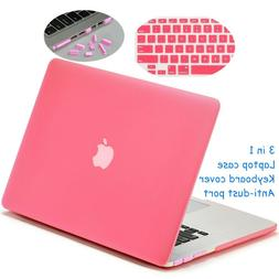 Rubberized Plastic Hard Shell Case with Keyboard Cover for M