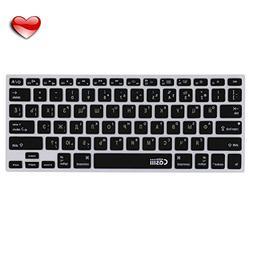 Casiii Russian English Ultrathin Silicone MacBook Keyboard C
