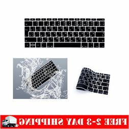 HRH Russian Language Silicone Keyboard Cover Skin for MacBoo