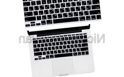 HRH Russian Letter Keyboard Cover Protector for MacBook Air