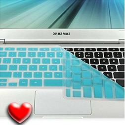 Casiii  Samsung Turquoise Blue Silicon Chromebook Keyboard C