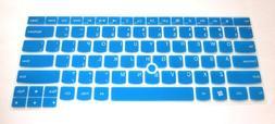 Semi-Blue Ultra Thin Soft Silicone Gel Keyboard Protector Sk