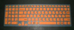 BingoBuy® Semi-Orange Backlit High Quality Silicone Keyboar