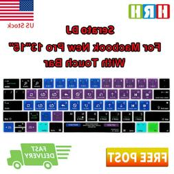 Serato DJ Shortcuts Silicone Keyboard Cover Skin for Macbook