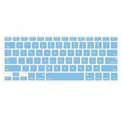 MOSISO Silicone Keyboard Cover Compatible with MacBook Pro 1