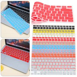 """Silicone Keyboard Cover For Apple Macbook Pro Air 13"""" 15"""" 17"""