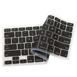 "Silicone Keyboard Cover Protector MacBook Pro 13"" 15"" 17"" Re"