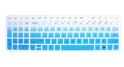 "Silicone Keyboard Cover Skin for 15"" HP Pavilion 15-ab 15-ac"