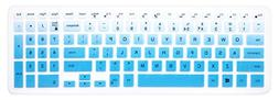"""Silicone Keyboard Cover Skin for 15.6"""" Dell Inspiron 15 7567"""