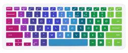 """Silicone Keyboard Cover Skin Compatible with 13.3"""" Dell Insp"""