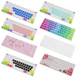 Silicone Keyboard Cover Skin for 14 inch HP Pavilion