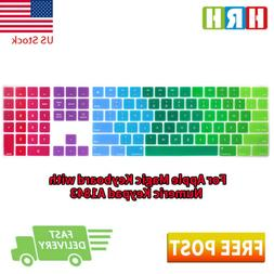 Silicone Keyboard Cover Skin for Apple Magic Keyboard with N