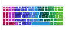 Silicone Keyboard Cover Skin for 15.6 inch HP Pavilion 15-ab