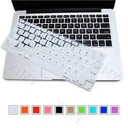 YMIX Silicone Keyboard Cover Soft Gel Water Proof Protective