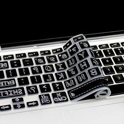 Masino Silicone Keyboard Cover Ultra Thin Keyboard Skin for