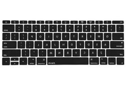 MOSISO Silicone Keyboard Cover Waterproof Protection For Mac