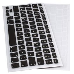 Lilware Silicone Keyboard covers for MacBook Air 13 / 15 / 1