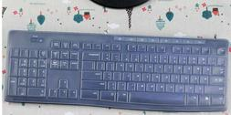 Silicone Keyboard Protector Cover for Logitech MK275 MK200 M