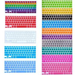 "Silicone Keyboard Skin Cover For Apple Macbook Pro  13"" 15"""