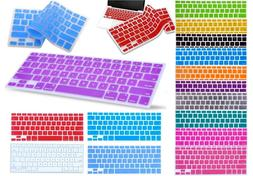 silicone keyboard skin cover for apple macbook