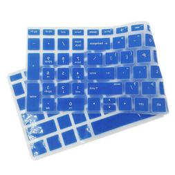 Silicone Keyboard Skin Cover for HP 15.6'' BF Notebooks, Blu