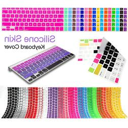 PASBUY Silicone Skin Keyboard Cover for Apple MacBook Pro Re