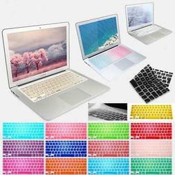 Silicone US Keyboard Cover Skin For Apple MacBook Air / Pro