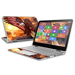 """MightySkins Skin For HP Spectre x360 2-in-1 13.3""""  � Bald"""