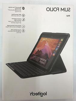Logitech iPad Slim Folio: Case with Wireless Keyboard with B
