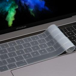 LENTION Keyboard Cover Protective Skin for 2018 2019 MacBook