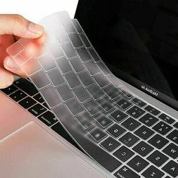 Soft Silicone Keyboard Cover Skin for Apple MacBook Pro Air