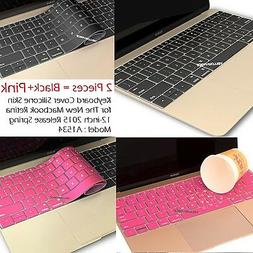 Soft Silicone Keyboard Protector Cover Skin for New Macbook