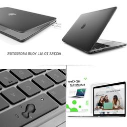 Soft Touch Hard Case Keyboard Cover Screen Protector For Mac