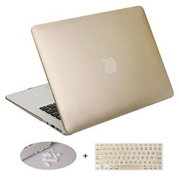 DWON MacBook Air 13 Inch Case with Keyboard Cover and Dust P