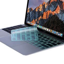 MOSISO Premium Soft TPU Ultra Thin Transparent Keyboard Cove