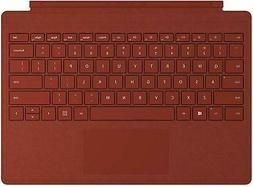 surface pro signature type cover poppy red