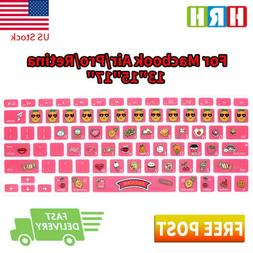 Sweet AWESOME Cartoon Keyboard Cover Silicone Skin for MacBo