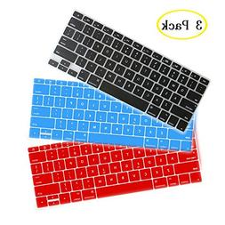 ISENXI Thin Silicone Keyboard Cover Skin for Apple Macbook A
