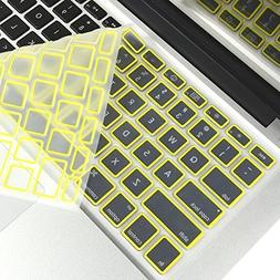 "TopCase Keyboard Cover Skin for Macbook Unibody White 13"" /"